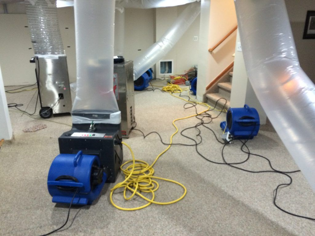 Burst Pipe Water Damage Cleanup in Banning, CA (6700)