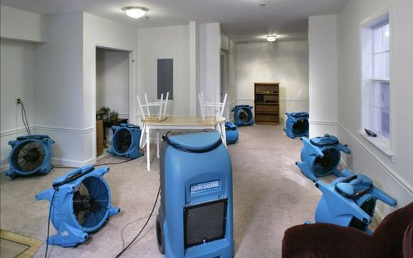 Commercial Water Damage Cleanup in Desert Hot Springs, CA (6526)