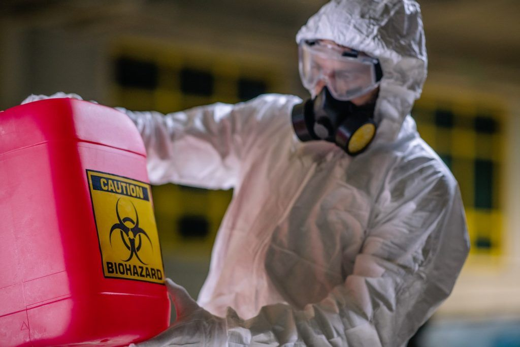 Biohazard Cleanup in Cathedral City, CA (7647)